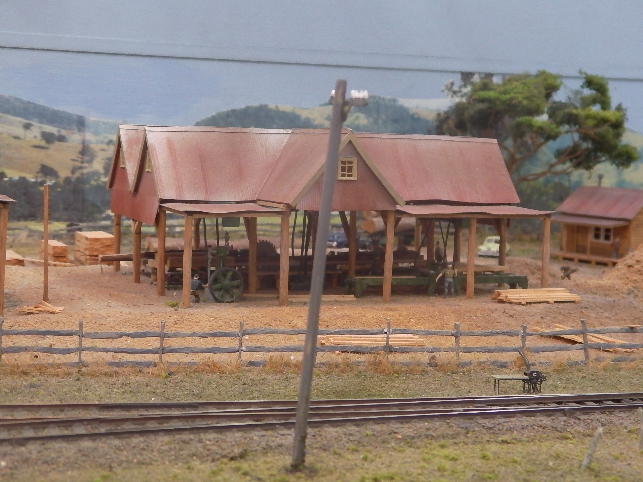 Layout Photos Model Train Buildings
