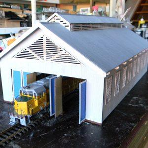 3 bay loco shed