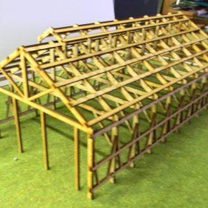 3 bay loco shed frame
