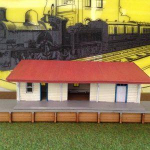 A3 Station Skillion Roof 1