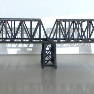 N scale bridge