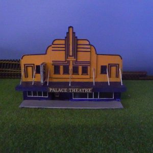 N scale palace thearter
