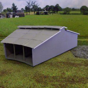 N scale rounhouse