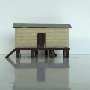 N scale shed