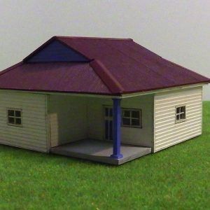 Weatherboard house H0001