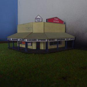 n scale corner shop