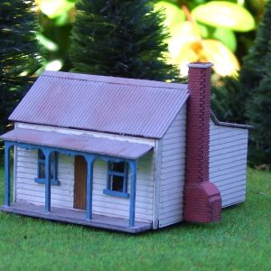 n scale miners cottage