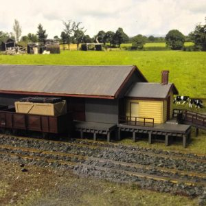 Goulburn to coomer goods shed 1