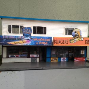 fish and chips shop finished