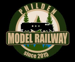 Philden Model Railway badge 336 x 280