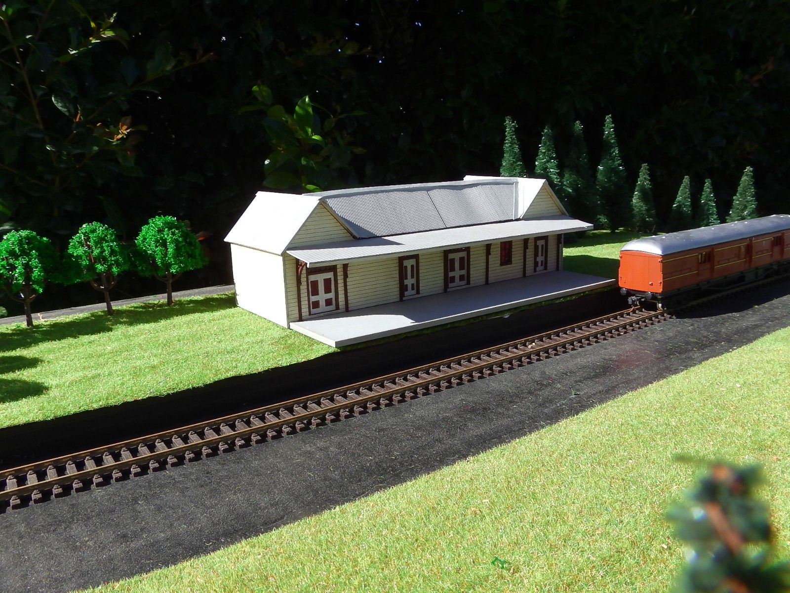 Ho Scale Building Nswgr A 5 Station Model Train Buildings