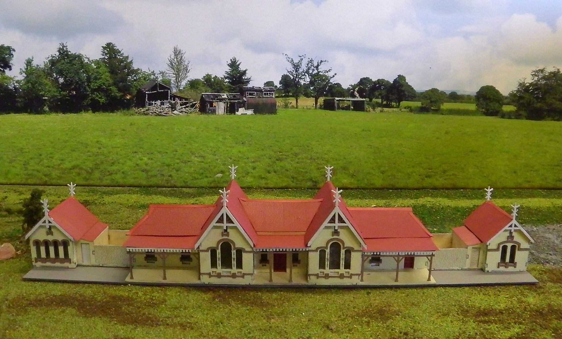 Stations and Trackside Buildings