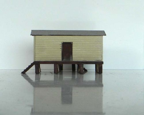 N scale building (KIT) QR Goods shed Thulimbah