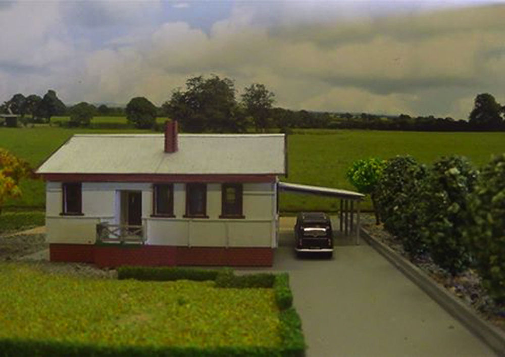 Maccas House Ho Scale Classic Australian House From The 50