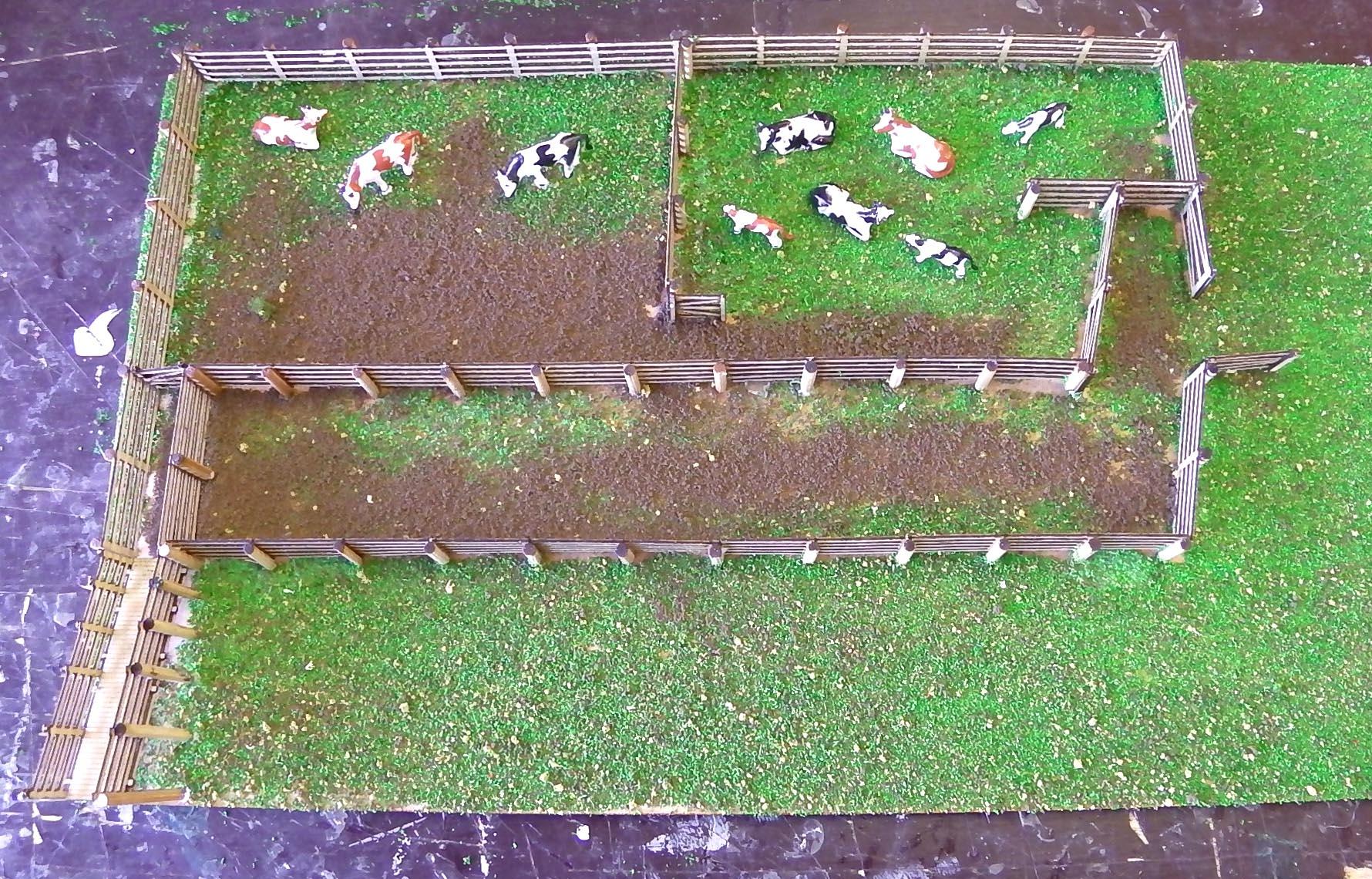 Cattle yard | Model Train Buildings