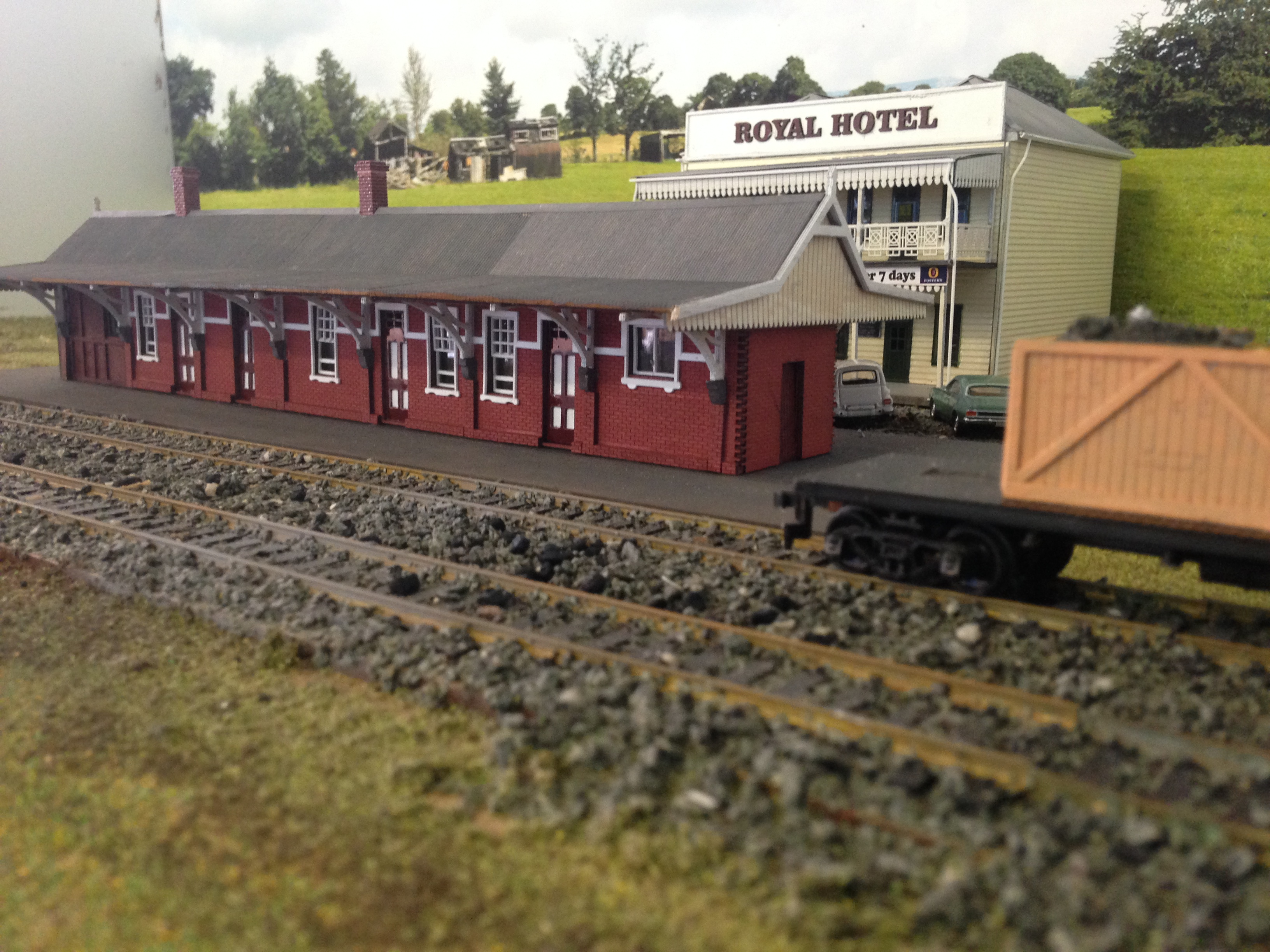 Ho 1 87 Scale A 10 Class Nswgr Linden Station Building Kit