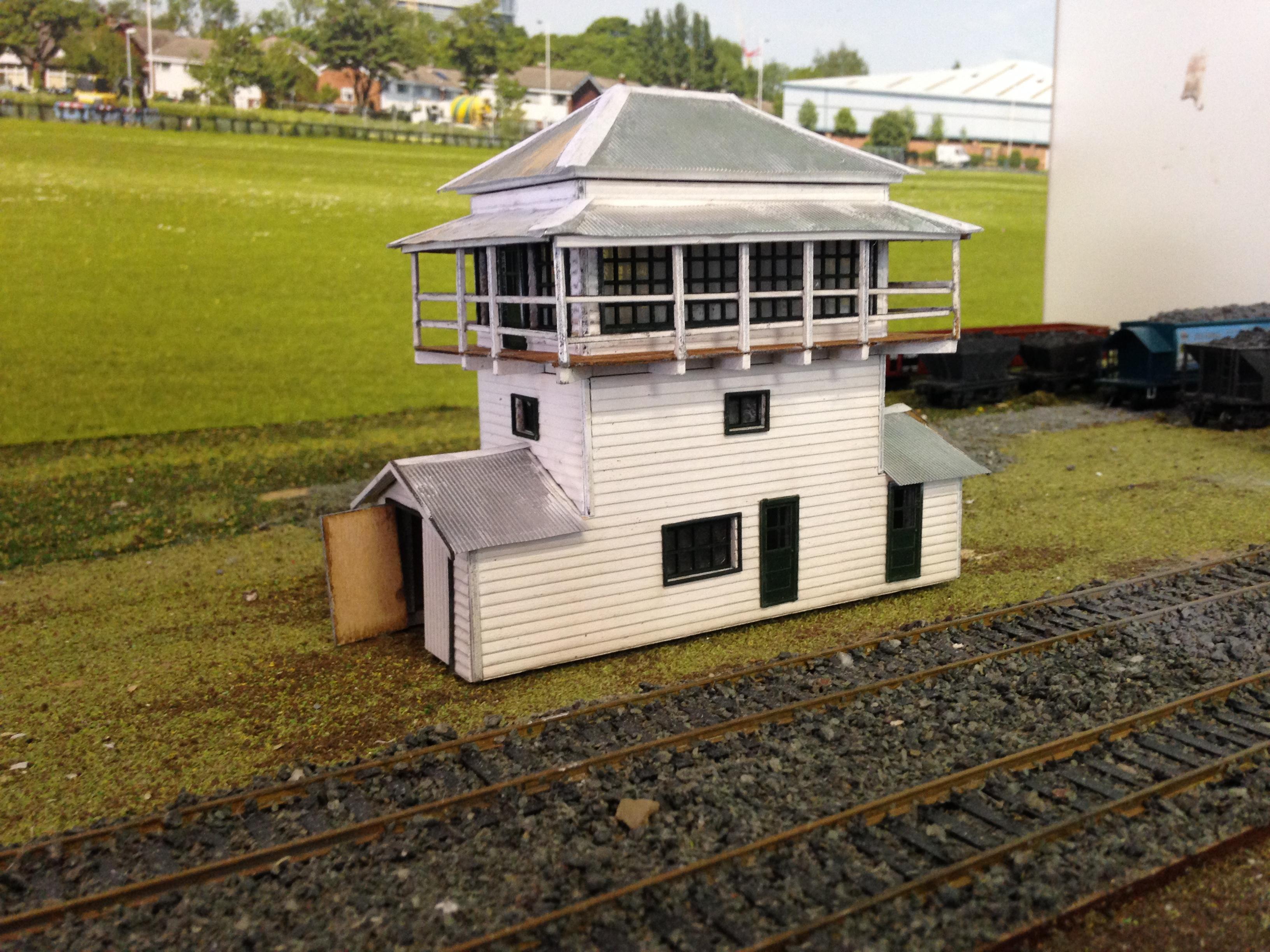 Ho 1 87 Scale Qr Gympie Signal Cabin Building Kit Model