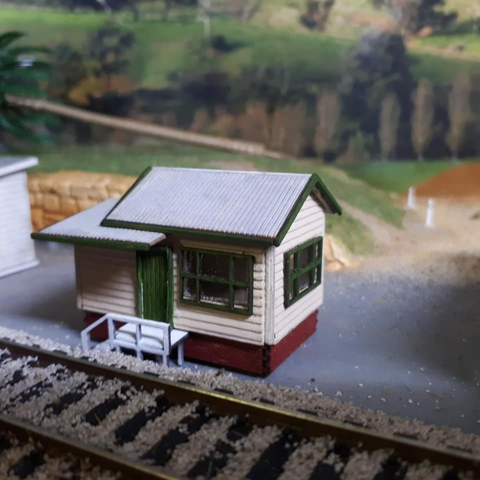 N Scale Neath Signal Box Nsw Model Train Buildings